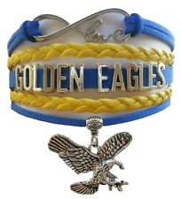University of Marquette Golden Eagles College Infinity Bracelet Jewelry Apparel