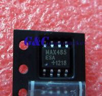 10PCS MAX485ESA MAX485 IC TXRX RS485/RS422 LOWPWR SOP-8 NEW :12+