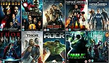 Avengers Ultimate Marvel Comic Heroes All 10 Movies DVD Complete Collection