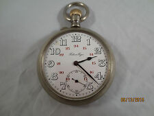 Pavel Bure Russian Military 24 Hours Dial Vintage Antique Pocket Watch WW1 Time