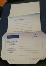AEROGRAMME air letter FALKLAND ISLANDS 14c MINT, Unused Postal stationery cover