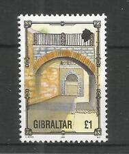 GIBRALTAR 1993 ARCHITECTURE HERITAGE £1.00 HIGH VALUE SG,706 U/MM N/H LOT 4520A