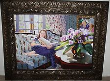 Patricia Hansen, California/New York Artist, Org. Watercolor, Ode to Marie