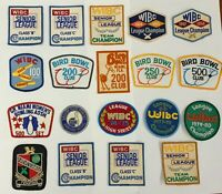 WIBC Womens International Bowling Congress Patches Lot Of 26 Title Award Patches