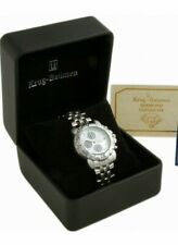 Krug-Baumen Mens Sportsmaster Diamond Mother of Pearl Dial  Brand New and Boxed