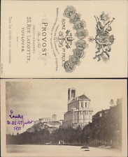 Provost, Sanctuaire Notre-Dame de Lourdes Vintage CDV albumen carte de visite