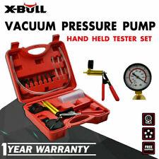 X-BULL Hand Held Vacuum Pressure Pump Tester Brake Fluid Bleeder Bleeding Kit