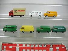 aj386-0,5 #7x HERPA H0 Trasportatore/modello CAMION: BMW VW Bus / CARAVELLE+