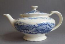 Earthenware Blue Pottery Tea Pots