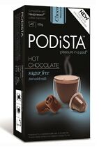 Nespresso-Compatible Podista Hot Chocolate Pods – Sugar Free - 10 Pods (1 box)