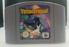 TETRISPHERE *Nintendo 64 PAL EUR Game* Loose