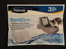 NEW Petmate Fresh Flow Filter Refill Quality Material  3 pcs IN package
