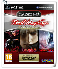 3 IN 1 PS3 Devil May Cry HD Collection Sony Playstation Games Action CAPCOM