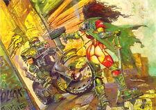 HEAVY METAL FAKK 2 ROUGH CUT 1997 COMIC IMAGES PROMO CARD 2