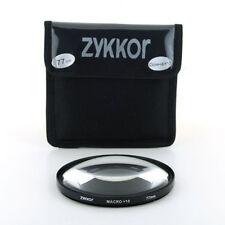 77mm Macro +10 Glass Filter Lens For SLR DSLR cameras, Free shipping, US seller!