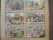 12647 LIEBIG Bilder Serie A720 Szenen aus Italien um 1900 6 cards italia italy
