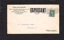 NEWSPAPER The Visitor Philadelphia Royal Arcanum 1907  I
