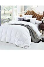 SHEONE White Goose Down Comforter King 100% Cotton Cover Hypo-Allergenic