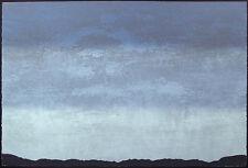 "Martha Slaymaker ""Night Skies III"" SIGNED FINE ART Serigraph blue SUBMIT OFFER"