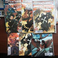 CAPTAIN AMERICA And Falcon Crossbones Batroc First Thirteen Secret Avengers 2011