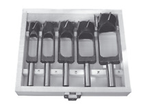 Zapfenschneider CS-Chromestahl Set 5 tlg. Z=4+5+6 Massiv SK147115035 Rechtslauf