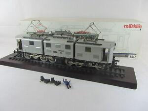 Märklin Spur 1 5517T Elektrolokomotive Br E91 in silbern, sehr gut mit OVP
