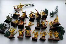 Warhammer fantasy wood elves, Glade Guard x22