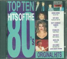 Top Ten Hits Of The 80'S - Duran Duran/Kate Bush/Arcadia/Kraftwerk Cd Vg