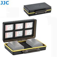 Camera Battery+SD Card Case fr Canon LP-E6 Nikon EN-EL15 Sony NP-FW50 NP-FZ100