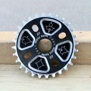 PROFILE RACING BMX BLACKJACK BICYCLE SPROCKET BLACK/SILVER MADE IN USA