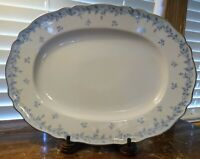 Franconia Krautheim Selb Bavaria Delphine Oval Serving Platter Excel. Condition