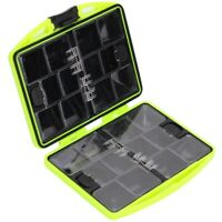 24 Grids Rock Fishing Accessories Box Double-Sided Tool Waterproof Mini Por A9N5