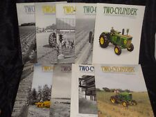 Collection of John Deere Tractor Two-Cylinder Magazine 10 Issues