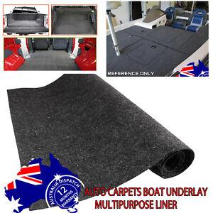 Felt Car Carpet Underfelt Marine Van Wall Trunk Liner Garage Flooring Anti-Slip