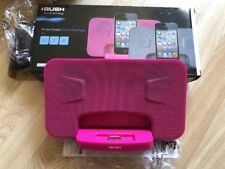 Bush portable speaker dock for ipod & iphone 4 4s PINK CSPK25WWI