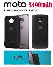Moto Mods TurboPower Pack Backup Battery 3490 mAh for Motorola Moto Z2 /Z Family