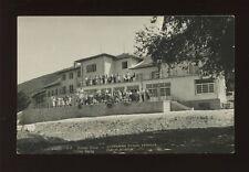 Bulgaria DOLNA BANYA School Used 1936 RP PPC fault