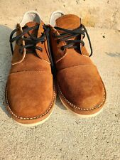 WESCO Custom JH Classics 10.5 BROWN DOMAIN Roughout Leather Captoe not boots