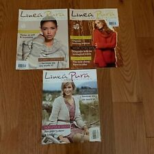 Lot 3 Linea Pura Knitting Magazines Germany Lovely Organic