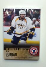 2018 Upper Deck Hockey Card Day Sealed P K Subban Lot/ Pack Of 25 Cards