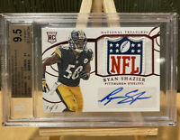 2014-15 National Treasures Ryan Shazier 1/1 RPA Shield RC Auto Patch BGS 9.5