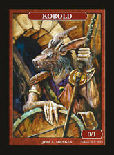 Kobold Token by Magic Artist Jeff A. Menges MTG Magic the Gathering