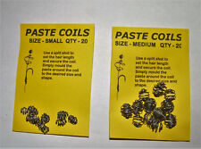 Paste Coils - Carp Coarse Fishing