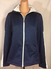 IZOD Womens Golf Lightweight Front Full Zip Jacket Fitness Windbreaker MSRP $70