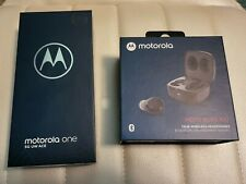 Motorola One 5G Uw Ace and Moto Buds 100 (Verizon/Unlocked)