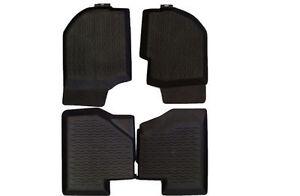 Volvo740 940 Molded Rubber Floormat Set Made in SWEDEN 754/757/850/851