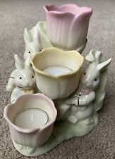 Lenox Occasions Easter Tulip Tealight Holder New In Box #6376586