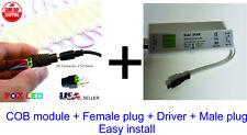 COB LED Module Light IP65 Waterproof Super bright 2W 6500K 12V DC 20 pcs/set