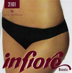 Slip donna Infiore in microfibra anti segno con cuciture invisibili art 2101
