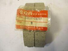 SUZUKI RM250 RM500 FRONT BRAKE SHOE PADS SET RM 250 500 54400-14840 kc